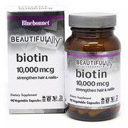 Биотин (B7) 10 000 мкг 90 вегетарианских капсул - Фото