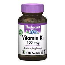 Вітамін К1 100мкг 100 капсул - Фото