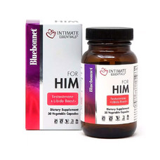 Комплекс Для Него Intimate Essentials For Him Testosterone Libido Boost 30 капсул - Фото