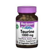 Таурин 1000 мг Bluebonnet Nutrition 50 гелевих капсул - Фото