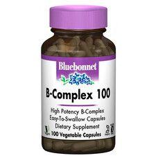 В-Комплекс 100 Bluebonnet Nutrition 100 гелевих капсул - Фото
