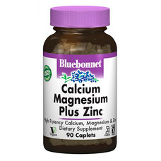Кальций Магний + Цинк Bluebonnet Nutrition 90 капсул - Фото