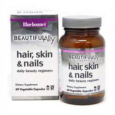 Комплекс для волосся, шкіри та нігтів Beautiful Ally Bebonnet Nutrition 60 капсул - Фото