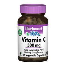 Вітамін С 500 мг Bluebonnet Nutrition 90 гелевих капсул - Фото