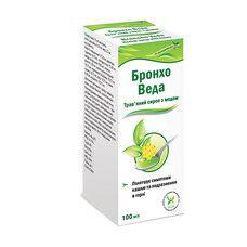 Бронхо Веда травяной сироп с медом 100 мл
