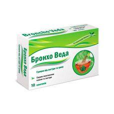 Бронхо Веда гранулы от простуды и гриппа пакетики № 10