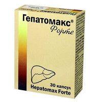 Гепатомакс форте капсулы N30 - Фото