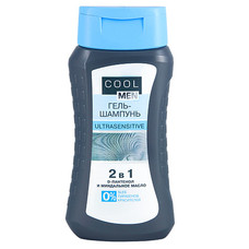 Cool Men Ultrasensitive гель-шампунь 250 мл