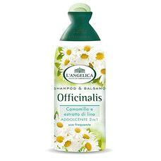 Смягчающий  шампунь 2 в 1 для слабых и тонких волос Langelica Officinalis 250 мл