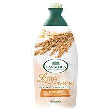 Нежный гель для душа и ванны с овсяным молочком Langelica Officinalis 500 мл