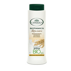 Гель-молочко для душа и ванны с экстрактом овса Langelica Botanics 500 мл