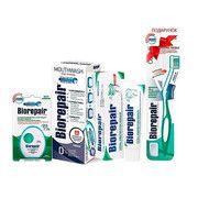 Набор Совершенный уход ТМ Биорепейр с зубной щеткой в подарок - Фото