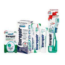 Набір Досконалий догляд ТМ Біорепейр із зубною щіткою в подарунок - Фото
