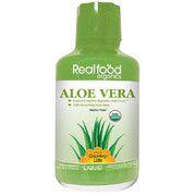 Real food organics Aloe Vera (Алоэ вера) 944 мл ТМ Кантри Лайф / Country Life - Фото
