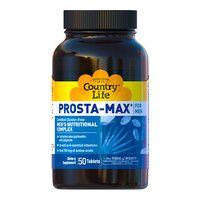 Комплекс витаминов для здоровья мужчин Prosta Max for Men Country Life 50 таблеток