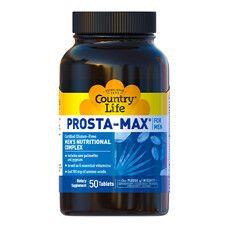 Комплекс вітамінів для здоров'я чоловіків Prosta Max for Men Country Life 50 таблеток - Фото