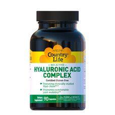 Hyaluronic Acid Complex (Гіалуронова кислота) 90 капсул ТМ Кантрі Лайф / Country Life - Фото