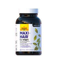 Комплекс вітамінів для волосся Maxi-Hair For Men 60 капсул ТМ Кантрі Лайф / Country Life - Фото