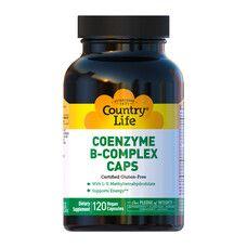 Коензим B-Комплекс капсули №120 ТМ Кантрі Лайф / Country Life - Фото