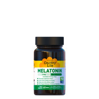 Мелатонін 1 мг 60 таблеток ТМ Кантрі Лайф / Country Life