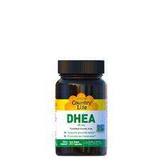 Тестостероновий бустер DHEA 30 веганських капсул ТМ Кантрі Лайф / Country Life - Фото