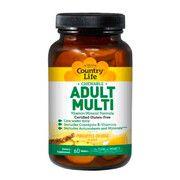 Мультивитамины Adult Multi 60 жевательных таблеток ТМ Кантри Лайф / Country Life - Фото