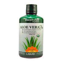 Real food organics Aloe Vera Plus (Алоэ вера плюс) 944 мл ТМ Кантри Лайф / Country Life