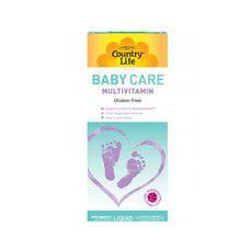 Мультивітаміни для дітей Baby Care 177 мл ТМ Кантрі Лайф / Country Life - Фото