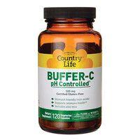 Буфер витамин С с контролем рН 120 капсул ТМ Кантри Лайф / Country Life - Фото