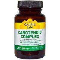 Каротиноидный комплекс (Carotenoid Complex) 60 капсул ТМ Кантри Лайф / Country Life