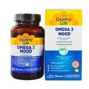 Вітаміни Omega-3 Mood (Омега-3 настрій) 90 капсул ТМ Кантрі Лайф / Country Life - Фото