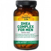 Тестостероновый бустер для мужчин DHEA Complex for Men 60 капсул ТМ Кантри Лайф / Country Life - Фото