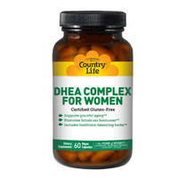 Витамины и микроэлементы DHEA Complex for Women Country Life №60 - Фото