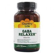 GABA Relaxer (ГАМК Релаксант) 90 таблеток ТМ Кантри Лайф / Country Life - Фото