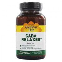 GABA Relaxer (ГАМК Релаксант) 90 таблеток ТМ Кантри Лайф / Country Life