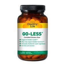 Підтримка сечового міхура Go Less 60 капсул ТМ Кантрі Лайф / Country Life - Фото