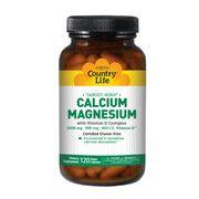 Кальций-Магний + витамин D3 120 капсул ТМ Кантри Лайф / Country Life - Фото