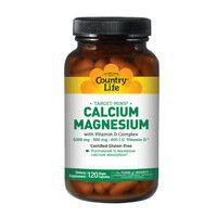 Кальций-Магний + витамин D3 120 капсул ТМ Кантри Лайф / Country Life