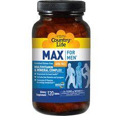 Макс Фор Мен без железа таблетки №120 ТМ Кантри Лайф / Country Life