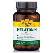 Мелатонин 3 мг 90 таблеток ТМ Кантри Лайф / Country Life - Фото