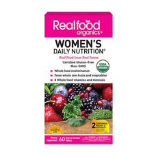 Женские витамины Real food organics Women's Country Life №60   - Фото