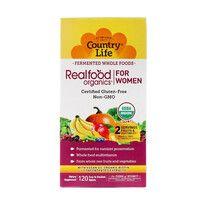 Витаминно-минеральный комплекс Real food organics for Women 120 таблеток ТМ Кантри Лайф / Country Life