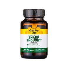 Вітаміни для розуму Sharp Thought 30 капсул ТМ Кантрі Лайф / Country Life - Фото