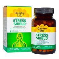 Антистресс Stress Shield 60 капсул ТМ Кантри Лайф / Country Life