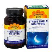 Вітамінно-мінеральний комплекс Stress Shield Nighttime 60 капсул ТМ Кантрі Лайф / Country Life - Фото