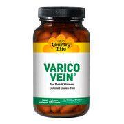 Вітамінно-мінеральний комплекс проти варикозу Varico Vein 60 капсул ТМ Кантрі Лайф / Country Life - Фото