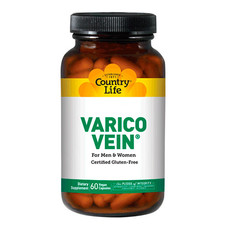 Витаминно-минеральный комплекс против варикоза Varico Vein 60 капсул ТМ Кантри Лайф / Country Life