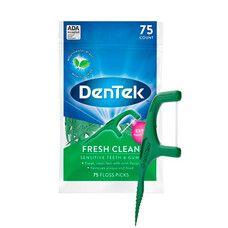 Флос-зубочистки Освіжаюче очищення 75 шт.  - Фото