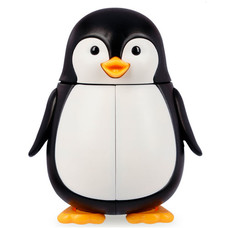 Футляр для зубних щіток Dentek Пінгвін - Фото