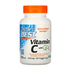 Вітамін C 500 мг Doctor's Best 120 гелевих капсул - Фото